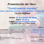 """Presentación del libro: """"Construyendo mundos"""" de Cecilia Hoffman"""