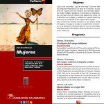 Ciclo de Conferencias: MUJERES