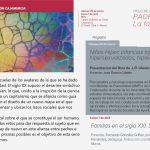 Ciclo de conferencias: PADRES E HIJOS. La familia en el siglo XXI